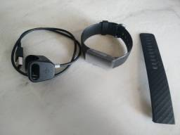 Smartwatch Smartband Fitbit Charge 4 Monitor Cardíaco C/ Gps Preto Novo