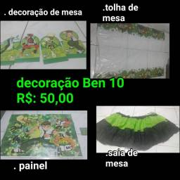 Decoração de festa Ben10
