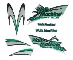Adesivo Original Para Walk Machine Verde