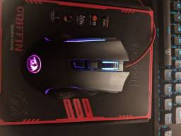 Mouse Gamer Redragon Griffin Rgb