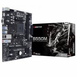 Placa-mãe Biosstar B550mh DDR4 Dual Channel Nvme Ryzen athlon