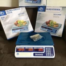 Balança 40kg Bivolt Recaregavel
