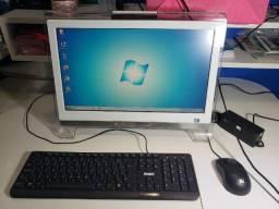Computador Allin one Aoc básico para acesso a Internet