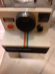 Máquina polaroid land câmera 1000 raridade com nf