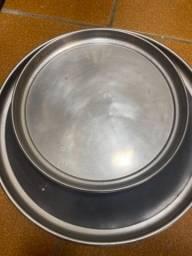 6 Bandeja aluminio