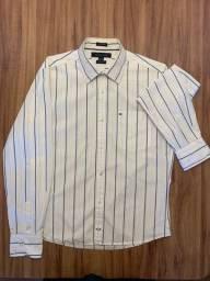 Camisa Masculina Tommy Hilfiger Tam. P/S 4,5/15Custom Fit - Legítima
