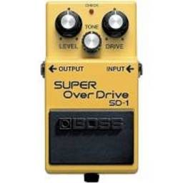 Pedal Boss SD 1 Super OverDrive
