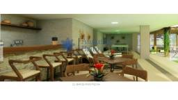 Alugo apartamento mobiliado com dois quartos pé na areia e area de lazer