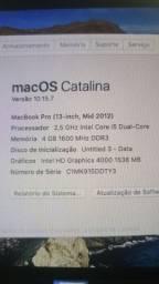 Macbook Pro 2012