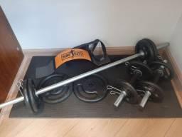 Kit Musculação Superiores 30kg