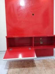 Vendo painel vermelho com led