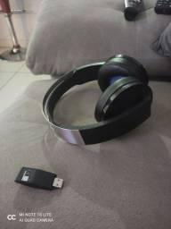 Fone Sony PS4 Platinum 7.1 sem fio