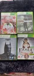 Lote de jogos Xbox 360 e Nintendo DS