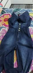 Macacao Rhero jeans