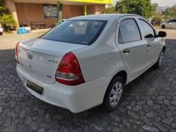 Etios x sedan  1.5 flex 2013 único dono 83.000km