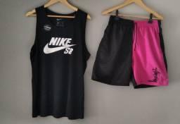 Peças variadas (bermudas, camisas, regatas, tenis...)