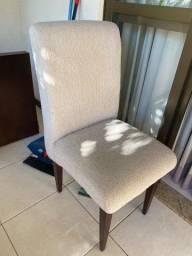 Conjunto de 6 cadeiras de jantar
