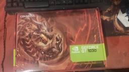 Placa de vídeo GeForce gt 1030 2Gb