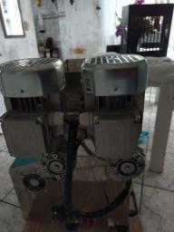 vendo máquina de salgados bralix muito nova e completa