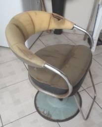 Cadeira de cabelereiro para reformar
