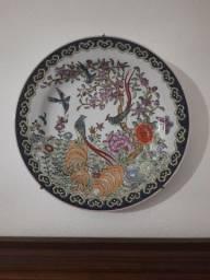2 pratos chineses para decoração