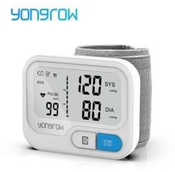 Tensiômetro de pulso Yongrow YK-BPW5 top de linha detector de arritmia