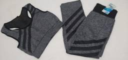 7 conjuntos de roupa de treino R$50 (7,14$ cada)