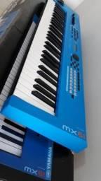 Teclado Yamaha Mx61 V2 Azul