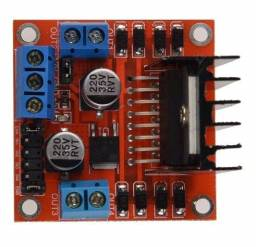 Ponte h L298 Arduino motor dc ou de passo