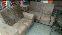 Jogo de sofá 2 e 3 lugares,Novo