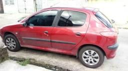 Venda ou troca carro modelo 206 ano 2000 - 2000