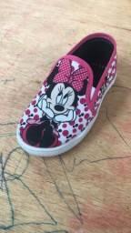 Sapatinho da Minnie mouse