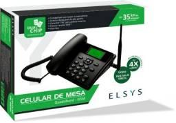Telefone Celular Rural Mesa Elsys 2 Chip Desbloqueado