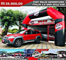 Fiat palio adventure itália ? 1.8 ano 2012 top - 2012