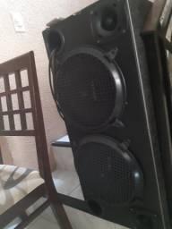 Caixa de som 600 watts