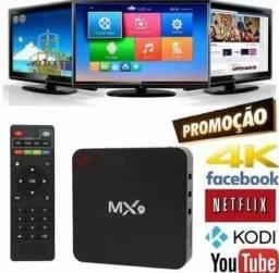 Sua tv com Internet Netflix YouTube Google 2gb mxq