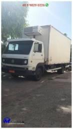 Baú para caminhão frigorifico camara fria Mathias Implementos