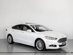 Ford Fusion Titanium 2.0 GTDI Eco. Awd Aut. - Branco - 2016 - 2016