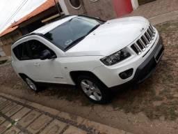 Jeep Compass Sport 2.0 + Banco de Couro/Central multimídia - 2015