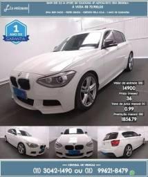 Bmw branco 125I 2.0 Sport 16v gasolina 4p automático 2014 R$ 70.913 58000km - 2014