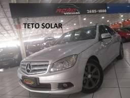 MERCEDES-BENZ C 180 K  TOP TETO SOLAR 2010 - 2010