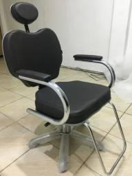 Cadeira De Barbeiro Reclinável Gobbi Terra Santa