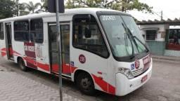 Lotação São Vicente linha Jockey Club ônibus e faixa sem dívidas - 2011