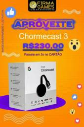 Chromecast 3 original Google transforme sua tv em smart tv