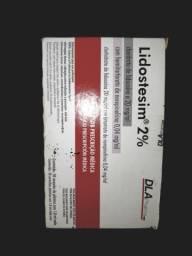 Anestésico Lidocaína/ uso odontológico