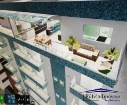 Esplêndido cobertura com elevador, 3 quartos, cozinha gourmet e vista livre