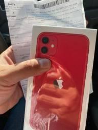 IPhone 11 128gb Vermelho RED NOVO LACRADO
