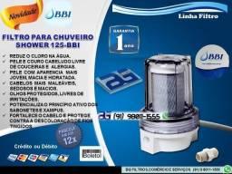 Filtro para chuveiro Shower 125- Entrega e Instalação Grátis