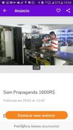 Som Caixa Propaganda 650R$
