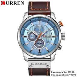 Relógio masculino importado original Curren de qualidade incrível